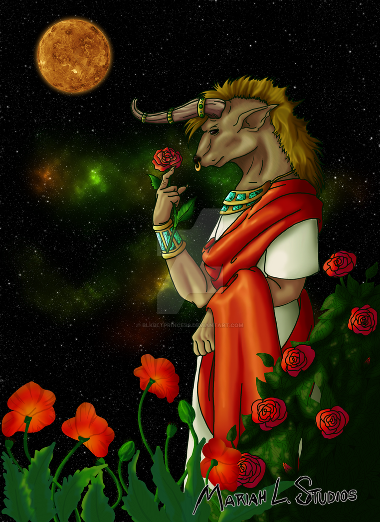 Taurus by Blkbltprincess