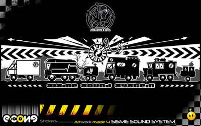 Sisme sound system by e-cone