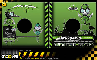 Cover AFK Dn'B 05-06 by e-cone