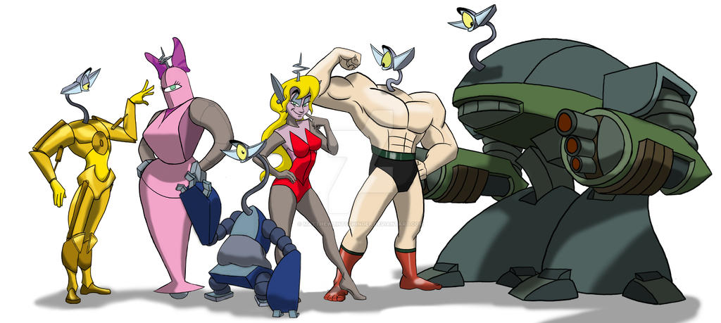 OXOX all characters by MatthewLintschinger