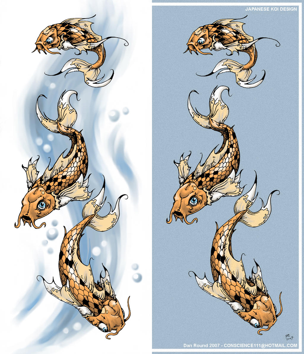 Koi tattoo request by