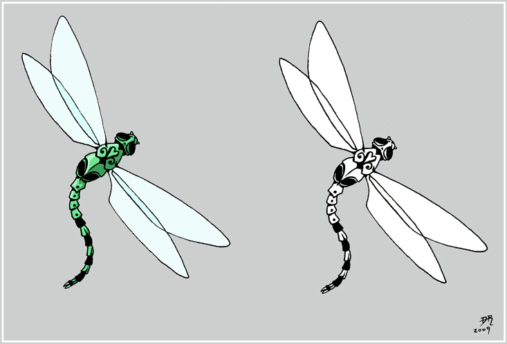 Very Small Dragonfly Request - dragonfly tattoo