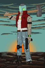 Pixel Fighter by Artassin