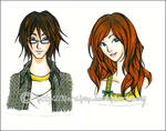 City of Bones : Clary + Simon