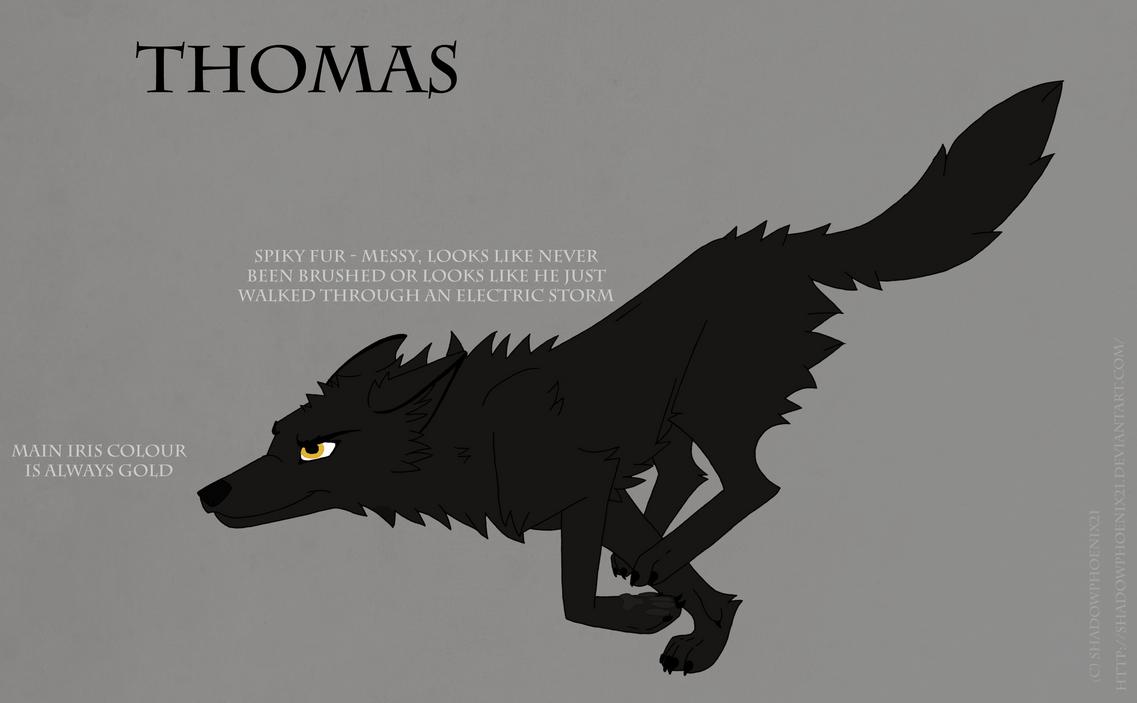 Thomas Ref Sheet by Shadowphoenix21
