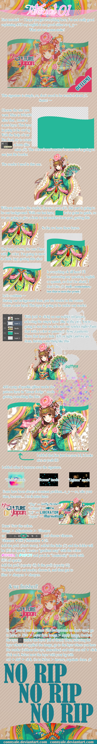 Tutorial 01- The culture of Japan - English ver. by ConnyAle
