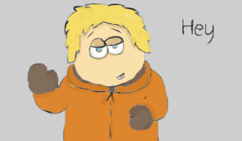 South park - Kenny by XMidnightBlazeX