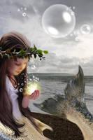 The little mermaid by medieval-vampire121
