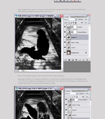 Creating Shadows Tutorial by Sakura222-stock