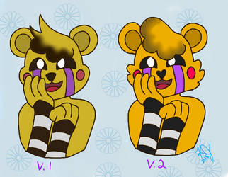 Goldilocks - Models 1 and 2 by ShinyTeacake