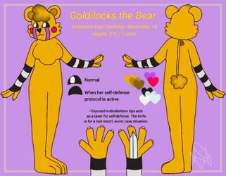 Goldilocks reference sheet by ShinyTeacake
