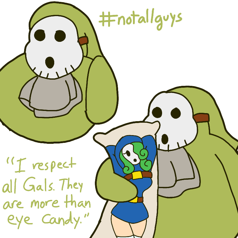 Toxic Guy [Joke OC] by ShinyTeacake