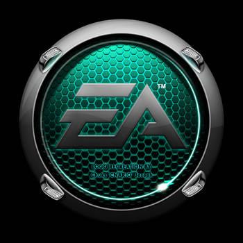Pimped EA Crysis Logo - cyan by CNARIO