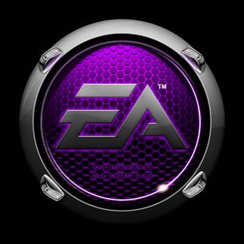 Pimped EA Crysis Logo - purple by CNARIO