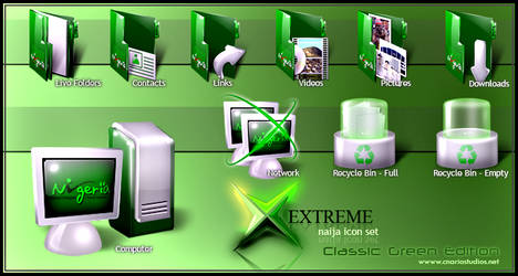 Xtreme Naija Icon Set 1