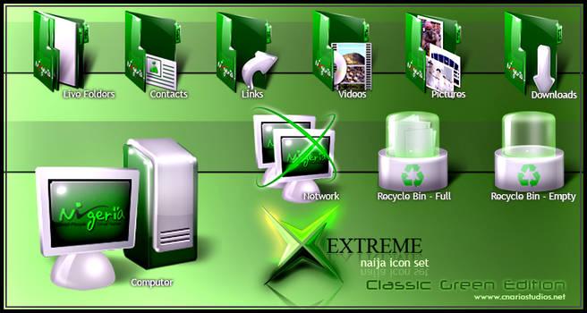 Xtreme Naija Icon Set 1