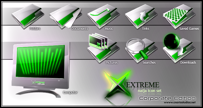 Xtreme Naija Icon Set 2