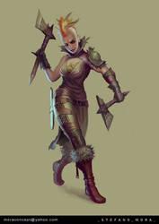 Fantasy female warrior