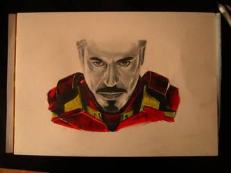 Iron Man by freddeb