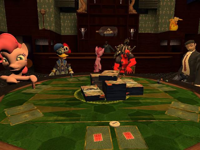Poker Night by SpongeBat1