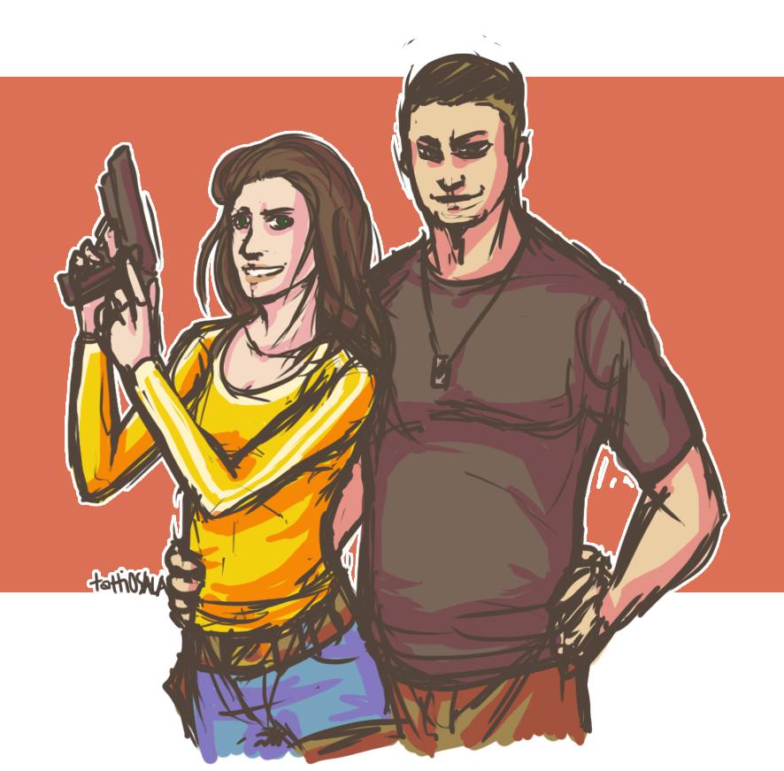 Isobel and Jordan by tattiOsala