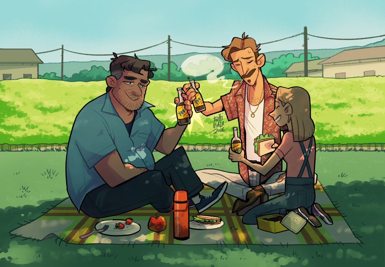 niceguys picnic by tattiOsala