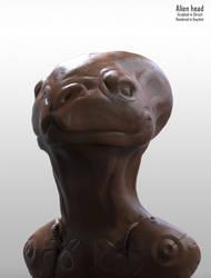 Alien head by Giar3579