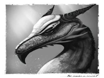 Dragon for Lis by Giar3579