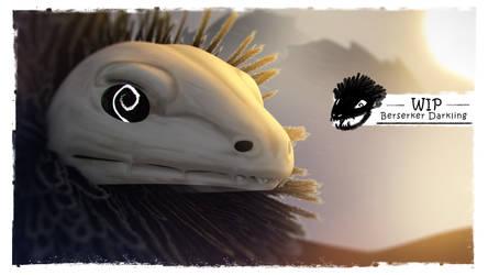 Imaginary Guardians Berserker Darklings 3D wip by Giar3579