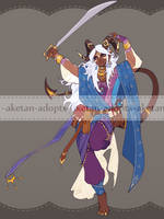 DnD - Tiefling Bladedancer Auction [CLOSED]