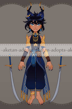 Desert Sapphire [CLOSED]