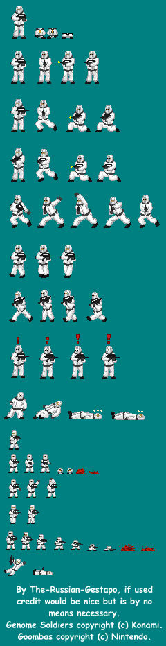 Miniature Genome Soldier Army