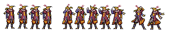 Kefka Palazzo from Final Fantasy VI Sprites by The-Russian-Gestapo