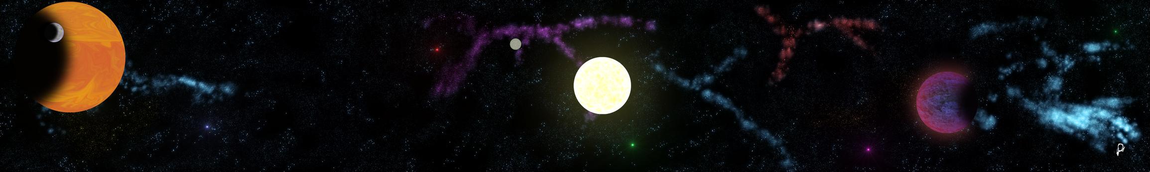Star system panorama