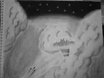 Sky City by st0rmblade