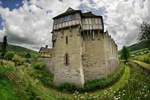 Stokesay Castle by DavidKennard