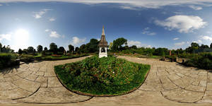 Welland Park Rose Garden 360 by DavidKennard
