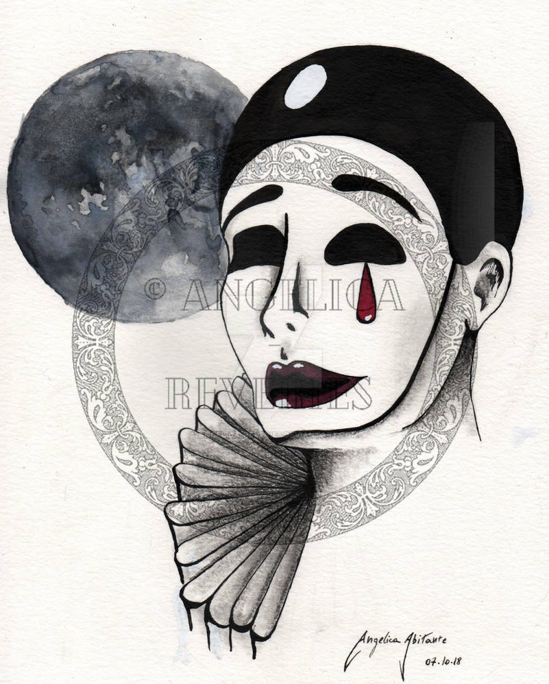 Pierrot by Angelica-Reveries
