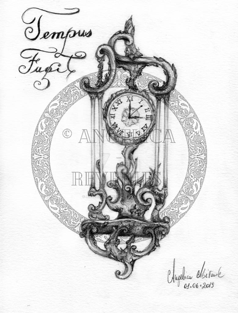 Tempus fugit: time is running out by Angelica-Reveries