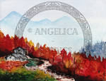 Autumn_ Watercolor painting by Angelica-Reveries