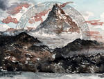 Erebor_Watercolor painting by Angelica-Reveries
