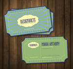 Free Retro Business Card Template