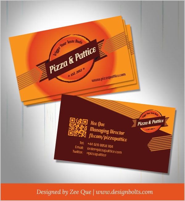 Free Vector Business Card Design Template By Designbolts