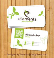 Free Beautiful Business card Design Template by Designbolts
