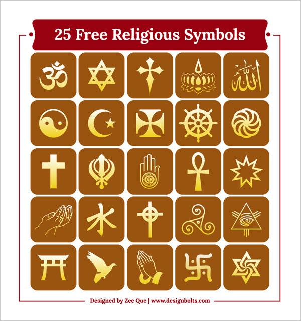 Free Religious Symbols Icons By Designbolts On Deviantart