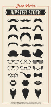 Free Vector Hipster Stock