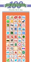 100 Free Social Media Icons