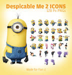 Despicable Me 2 Minion Icons PNGs
