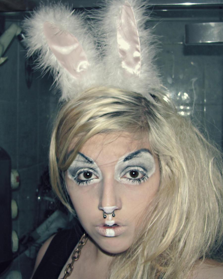 White Rabbit Makeup by lavagirl703 on DeviantArt