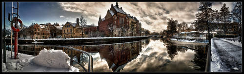 Orebro central panorama HDR by PaVet-Photography